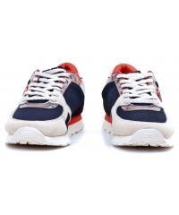 Sneakersy Półbuty Damskie Sportowe Armani Jeans Granatowe 30 C55C3 51 G8 BLUE