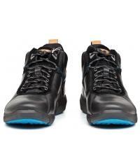 Trzewiki Męskie Clarks Czarne Skórzane Gore-Tex 23 Triman Up Gtx 261193397 Black Leather