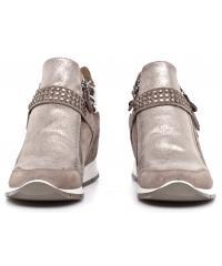 Sneakersy Damskie IMAC Beżowe Skórzane 40 63381 7152 / 017 BROWN