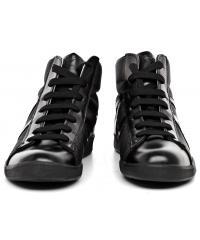 Sneakersy Męskie Armani Jeans Czarne 30 935566 CC503 00020 NERO