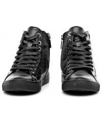 Sneakersy Damskie Armani Jeans Czarne 30 925001 6A438 00020 NERO