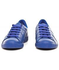 Sneakersy Męskie Armani Jeans Niebieskie Skórzane 30 935565 CC500 03833 BLU CINA