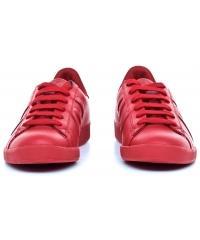 Sneakersy Męskie Armani Jeans Czerwone Skórzane 30 935565 CC500 00074 ROSSO
