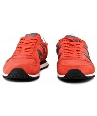 Sneakersy Męskie Armani Jeans Pomarańczowe Skórzane 30 935027 7P420 02465 ORANGE 1664