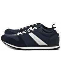 Sneakersy Męskie GUESS Granatowe 22 FMJUS1 FAB12 BLUE