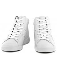 Sneakersy Męskie Armani Jeans Białe Skórzane 30 935566 CC500 00010 BIANCO