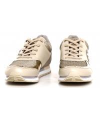 Sneakersy Damskie GUESS Beżowe REETA 22 FLRET1 LEA12 BEIGE