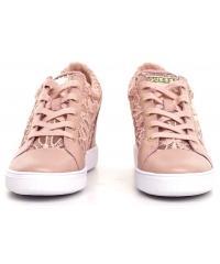 Sneakersy Damskie GUESS Pudrowy Róż FINNA FLFIN1 LAC12 LROSE