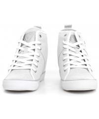 Sneakersy Damskie GUESS Srebrne JILLIE FLJIL1 FAM12 SILVE