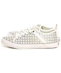 Sneakersy Damskie GUESS Kremowe JOLIE FLJLI1 ELE12 WHITE