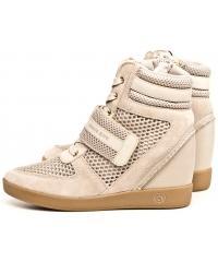 Sneakersy Damskie Armani Jeans Beżowe 30 925170 7P561 00555 BEIGE