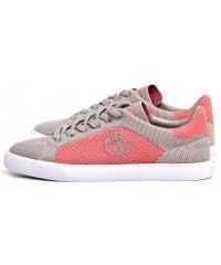 Sneakersy Damskie GUESS Szaro-Różowe MAKILLA 22 FLMAK2 FAB12 PEACH