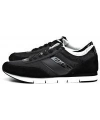 Sneakersy Męskie Calvin Klein Jeans Czarne Juan SE8549 Black