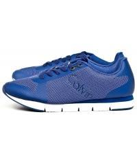 Sneakersy Męskie Calvin Klein Jeans Kobaltowe Jacques S1673 COBALT