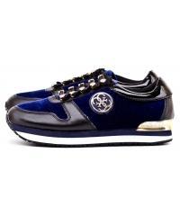 Sneakersy Damskie GUESS Niebieskie ROMAN 22 FLROM3 FAB12 BLBLA