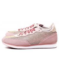 Sneakersy Damskie GUESS Pudrowy Róż SUNNY FLSUN3 FAB12 LPINK