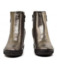 Sneakersy Damskie GUESS Brązowe FULVIA FLFUL4 LEL10 BRONZ