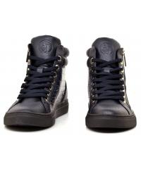 Sneakersy Damskie Armani Jeans Granatowe 30 925000 7A662 00334 BLU