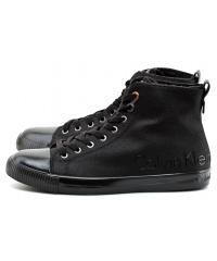 Sneakersy Męskie Calvin Klein Jeans Czarne Aron S0474 BLACK