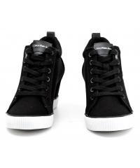 Sneakersy Damskie Calvin Klein Jeans Czarne Ritzy R3551 Black