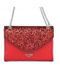 Listonoszka Damska GUESS Czerwona EVER AFTER MINI HWVH68 62780 LIP