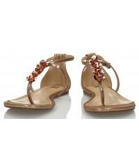 Sandały Damskie 3i Złote 10842