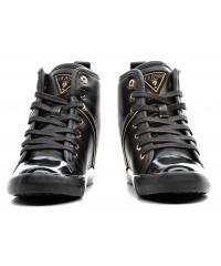 Sneakersy Damskie GUESS Czarne FLJLY3 ELE12 BLACK