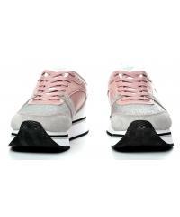 Sneakersy Damskie Emporio Armani Pudrowe 45 X3X046 XL214 A023 PLA/NUDE/SIL/WHI