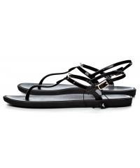 Sandały Damskie Emporio Armani Czarne 45 X3Q056 XD133 00002 BLACK