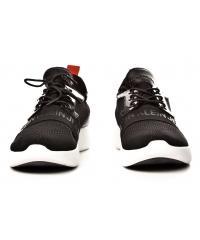Sneakersy Męskie Calvin Klein Jeans Czarne Mel Knit SE8596 BLACK