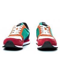 Sneakersy Męskie Emporio Armani Kolorowe 45 X4X215 XL200 A005 SCARLET MULTICOLOR