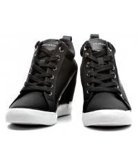 Sneakersy Damskie Calvin Klein Jeans Czarne Ritzy RE9800 Black