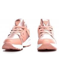 Sneakersy Damskie GUESS Pudrowe SEMI FL5SEM FAB12 ROSE