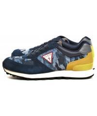 Sneakersy Męskie GUESS Niebieskie CHARLIE FM6CHA FAL12 BLUE