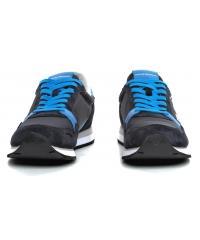 Sneakersy Męskie Emporio Armani Granatowe X4X215 XL198 A584 BLUE/LIMOGES/NIGHT