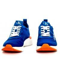 Sneakersy Męskie Calvin Klein Jeans Niebieskie Alban S0583 Nautical Blue