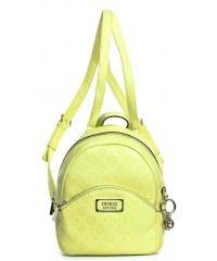 Plecak Damski GUESS Limonkowy LOGO LOVE SG76 6232 LIM