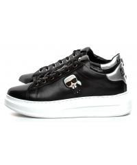Sneakersy Damskie Karl Lagerfeld Czarne KL 62530 000 Black