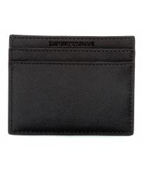 Card Holder Emporio Armani Czarny Y4R125 YFE6J 81072 NERO