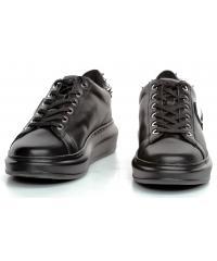 Sneakersy Damskie Karl Lagerfeld Czarne Kapri KL62529 00X Black Lthr/Mono